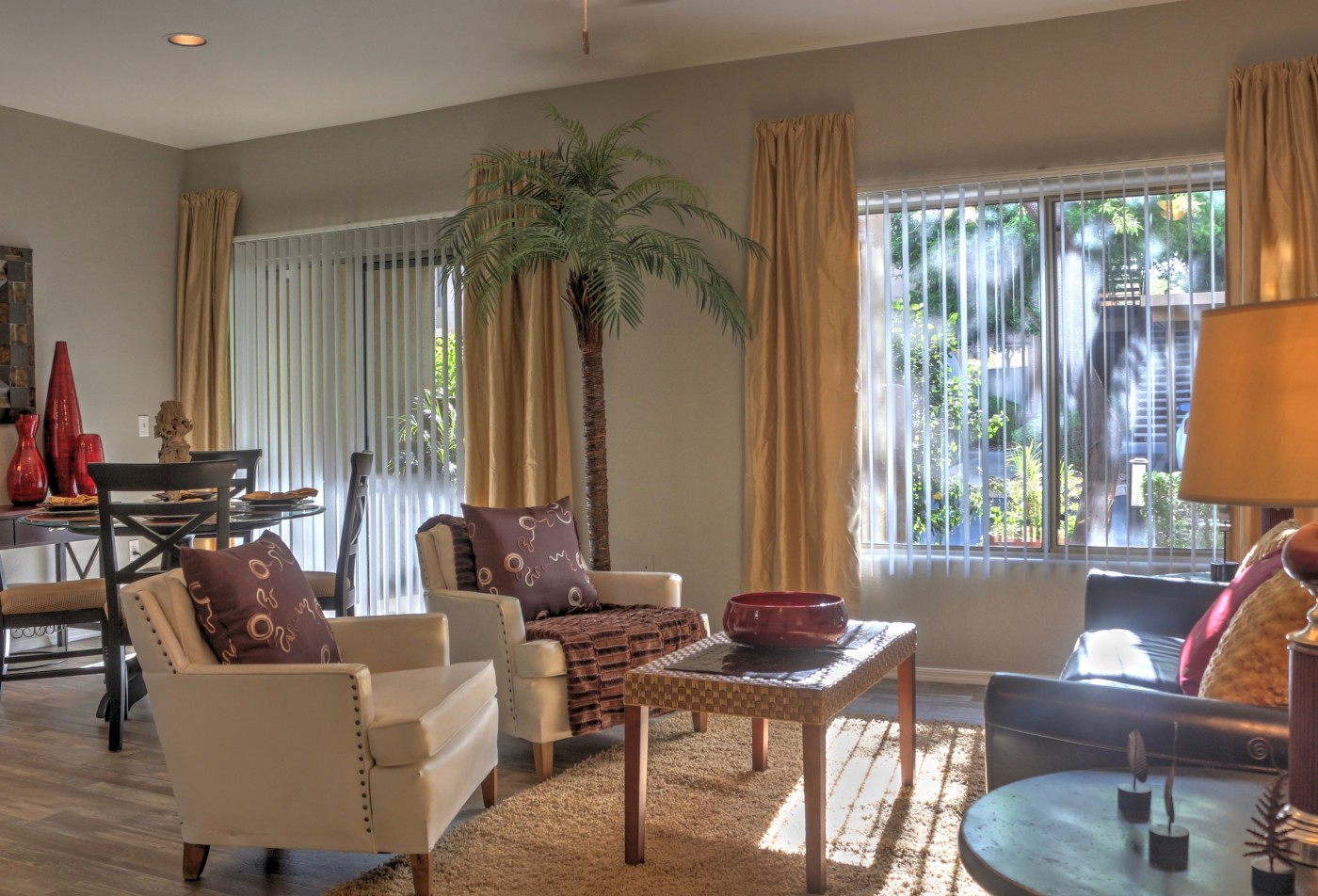 Ridge View Apartments Fountain Hills, AZ living room