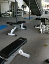 Gym at Allegro at Jack London Square Apartments in Oakland CA