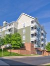 Exterior view of Windsor at Arbors Apartments in Alexandria VA