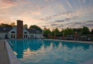 Pool and sundeck at Windsor at Pine Ridge Apartments in Elkridge MD
