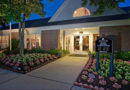 Entrance at Windsor at Pine Ridge Apartments in Elkridge MD