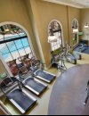 View of gym at Windsor at Glenridge Apartments in Sandy Springs GA