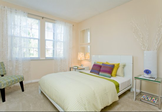 Spacious bedroom at Windsor at Miramar Apartments in Miramar FL
