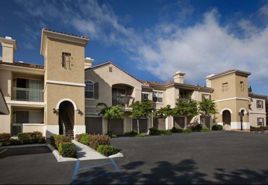 View of exterior at Windsor at Aviara Apartments in Carlsbad CA