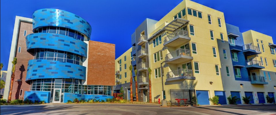 Buildings at Boardwalk by Windsor Apartments in Huntington Beach CA