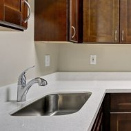 Newly renovated kitchens at Pavona Apartments in San Jose CA