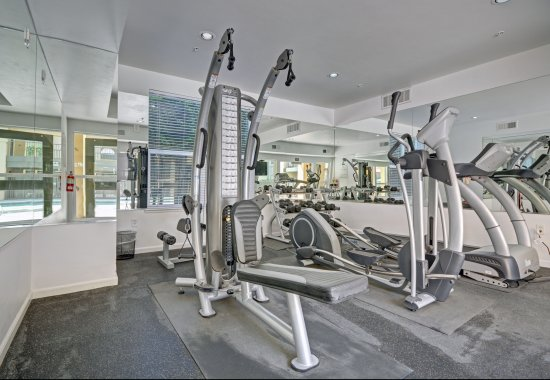 Gym at Villa Montanaro Apartments in Pleasant Hill CA