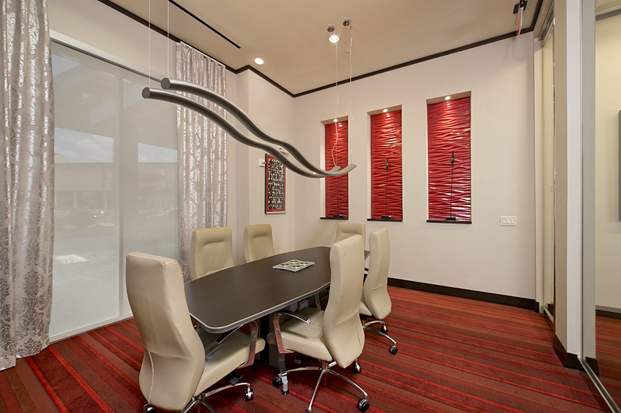 Meeting room at Domain by Windsor Apartments in Houston TX