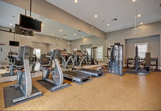 Gym at Estates at Park Place Apartments in Fremont CA