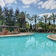 Swimming pool at Estates at Park Place Apartments in Fremont CA