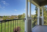 View of balcony at Estates at Park Place Apartments in Fremont CA