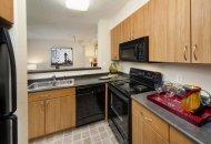 Kitchen at Windsor at Shirlington Village Apartments in Arlington VA