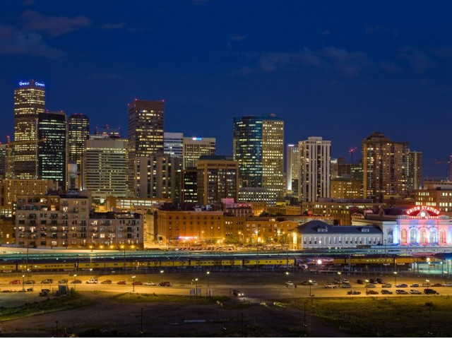 Image of Breathtaking views of Downtown Denver and the Rocky Mountains for The Manhattan