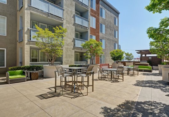 Landscaping at Allegro at Jack London Square Apartments in Oakland CA