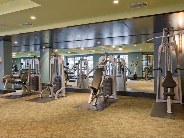 Image of High-tech fitness center for The Monterey by Windsor