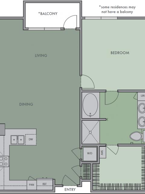 *Special Eco-Friendly Floor Plan