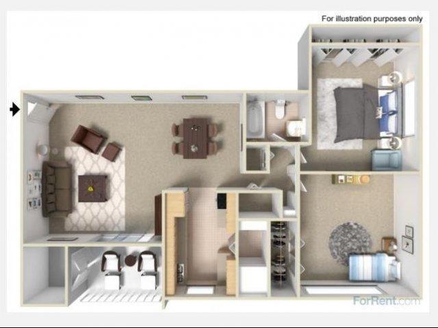 bedroom apartments in richmond va fox rest apartments
