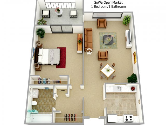 1, 2, & 3 bedroom apartments in boston ma | harbor point on the