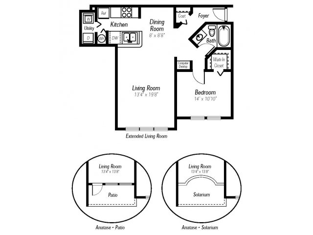 1 bed 1 bath apartment in fort myers fl ashlar