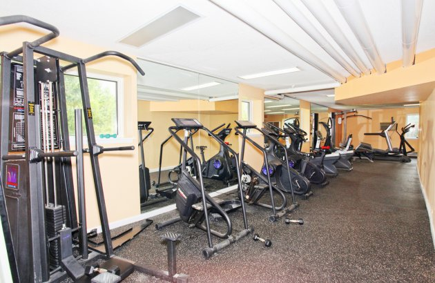 Stay in shape with use of the community Fitness Center