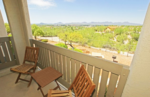 Picturesque desert setting with stunning views of the Tucson skyline and Catalina Foothills