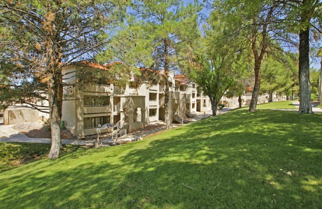 Enjoy sweeping views of the city skyline and majestic Santa Catalina Mountains
