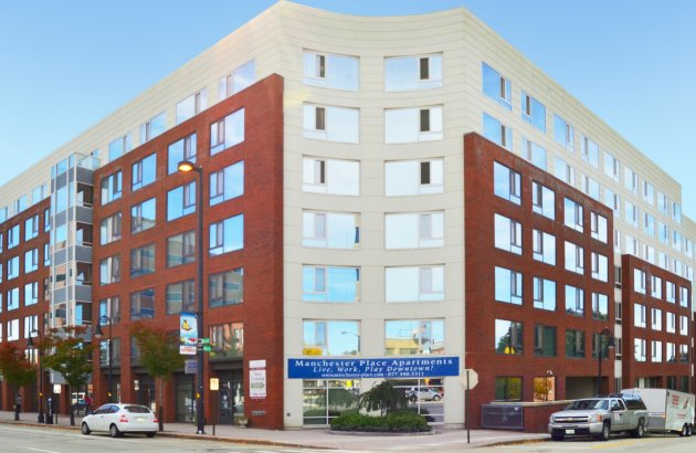 Live in the heart of downtown Manchester with easy access to shopping, dining, and entertainment