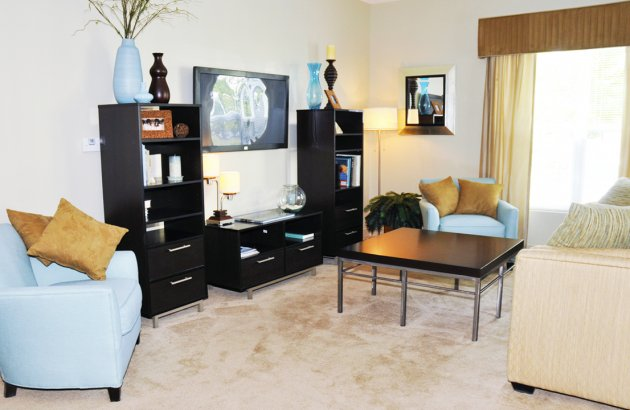 Common areas are heated and cooled to make sure you're comfortable both in and out of your apartment