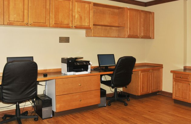 Take care of all your business needs from The Highland's at Faxon Woods business center