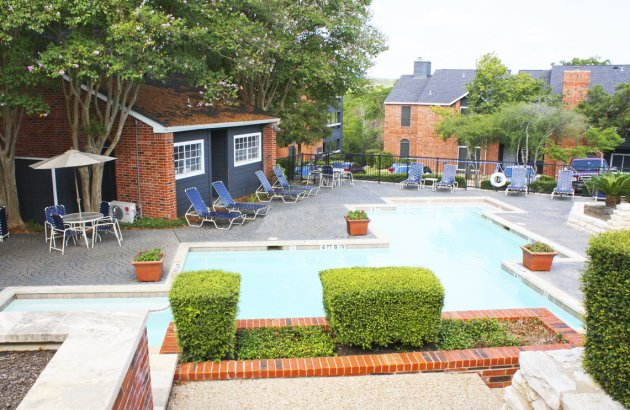 Take a swim in the community's sparkling swimming pool and relax on the sun deck