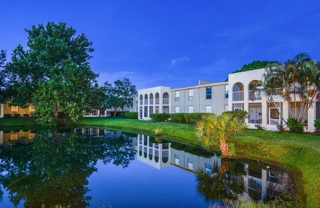 Enjoy a tranquil community, just minutes from Clearwater, downtown Tampa, beaches, and more