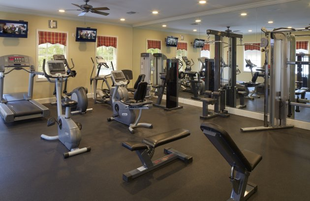Get in shape with access to the community's 24 hour fitness center
