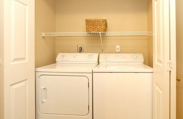 Laundry day is a breeze with a full size washer and dryer included in every apartment home