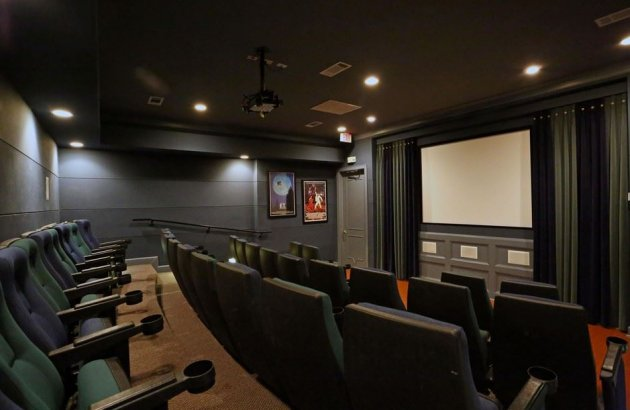 Make the most of your movie night with the community surround sound theater