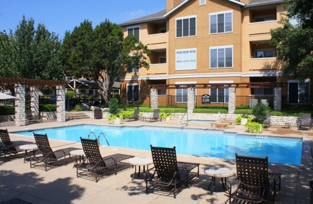 A perfect Austin location convenient to major highways and walking distance to shopping centers