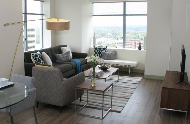 Furnished guest suites available for your out of town guests