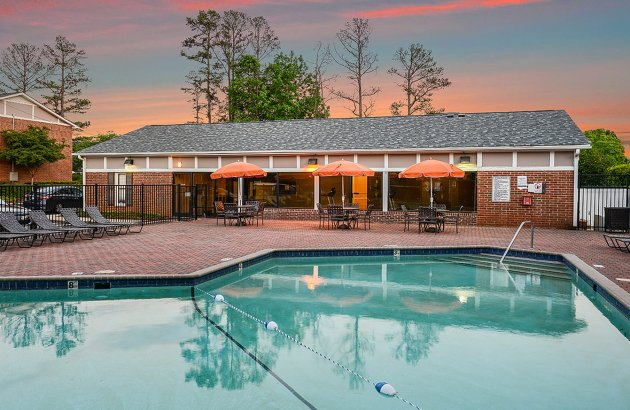 Go for a swim or relax poolside at one of Randolph Park's two sparkling swimming pools