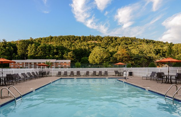 Relax at Cliffside's community pool on sunny days and warm afternoons