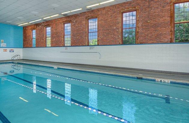 Full service health club, Indoor & outdoor pools, sauna, tennis court, & more