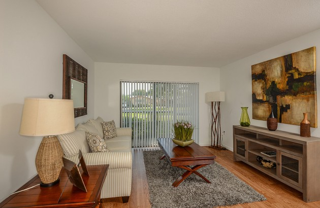 Enjoy a large eat-in kitchen and expansive closet space in these spacious apartment homes