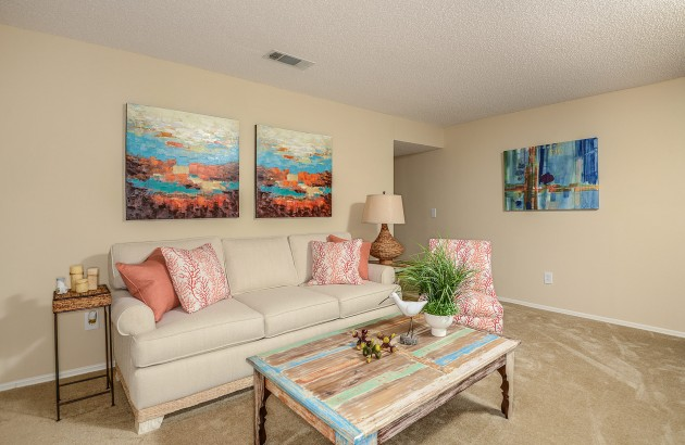 Live within walking distance to the beach for whenever you want to lay on the sand or take a dip