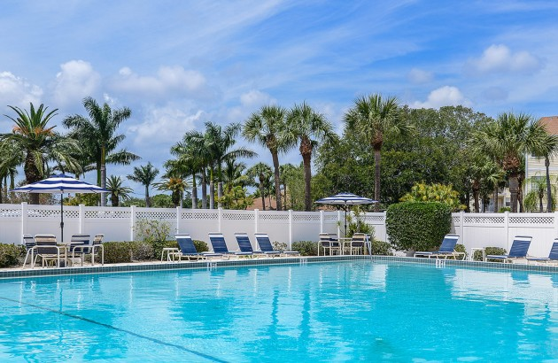 Spend a hot day by the Jr Olympic size pool with sun deck or a cool afternoon on the tennis court