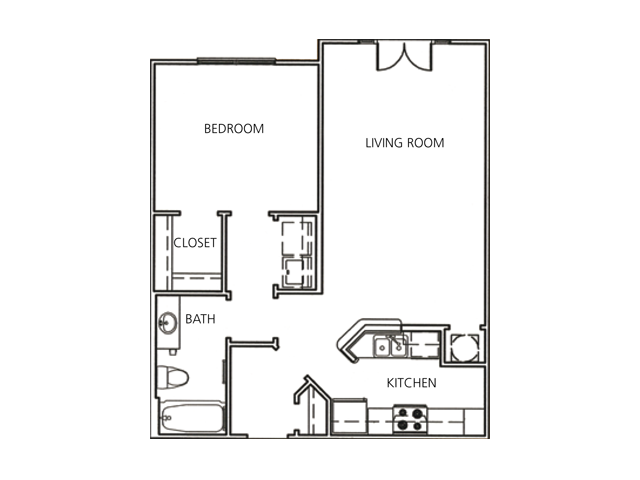 New Orleans Home Floor Plans: 1 Bed / 1 Bath Apartment In Decatur GA