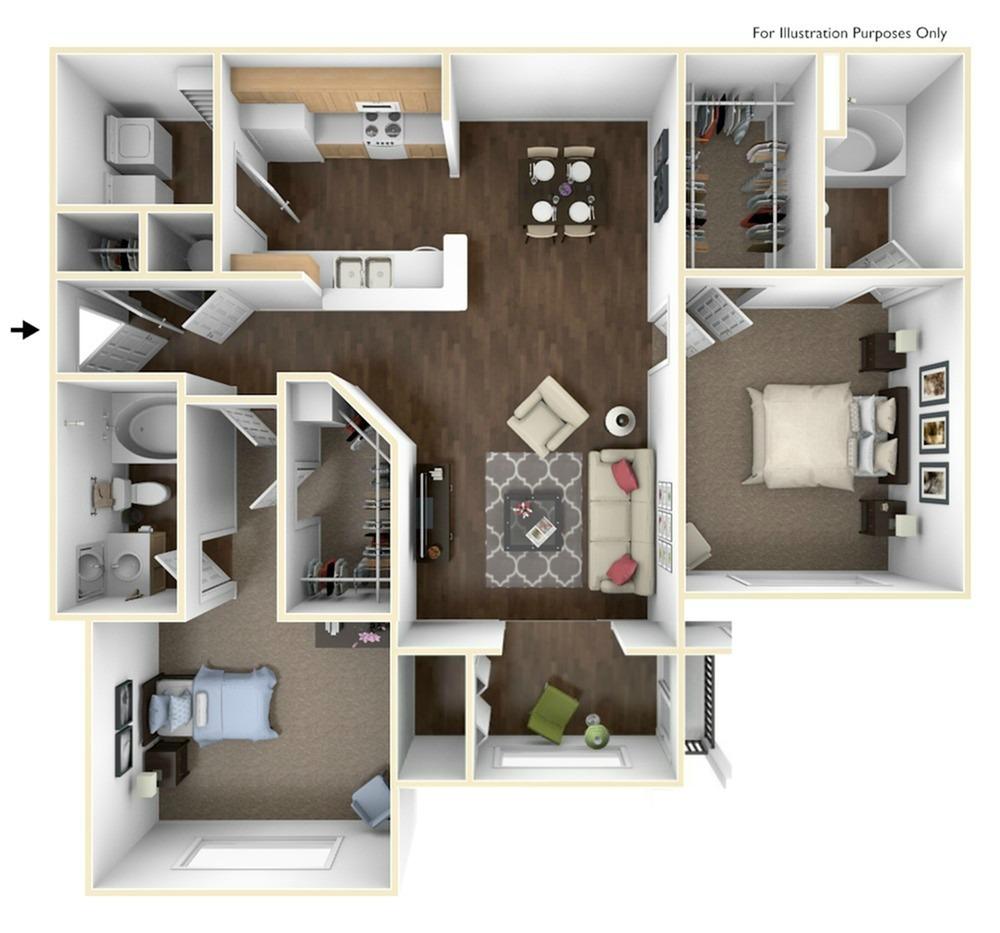 Apartments In Newnan Ga: 2 Bed / 2 Bath Apartment In Newnan GA