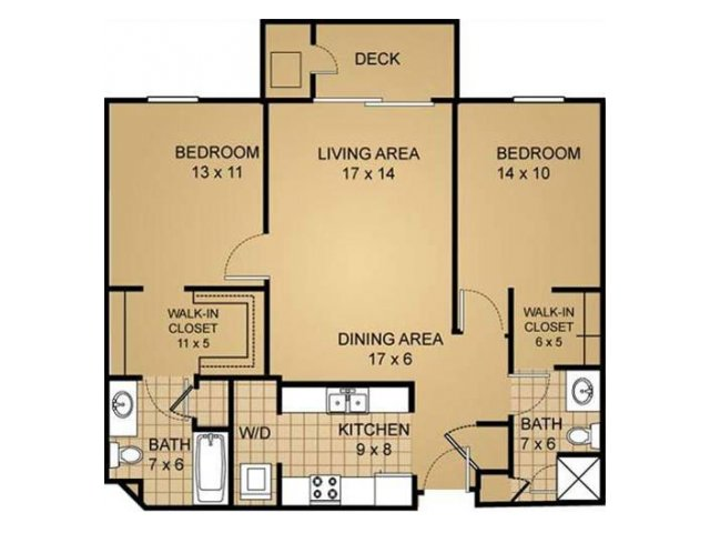 Floor Plan 5 | Saddle Brook