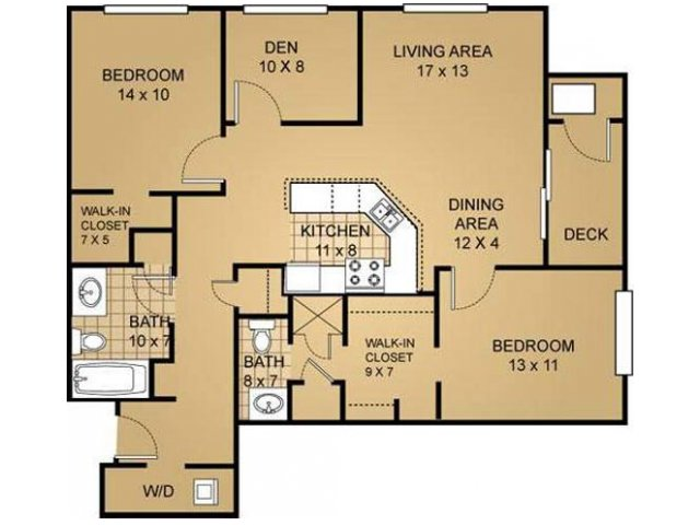 Floor Plan 11 | Saddle Brook