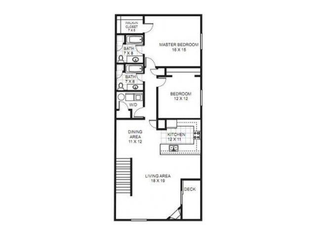 Floor Plan 14 | Saddle Brook