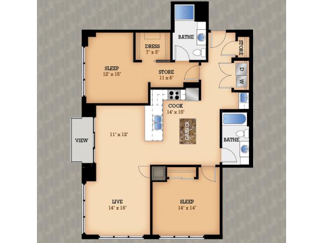 domain apartments luxury studio 1 2 bedroom apartments
