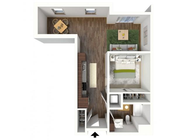 Floor Plan A3.2 | Jade at North Hills | Apartments in Menomonee Falls, WI