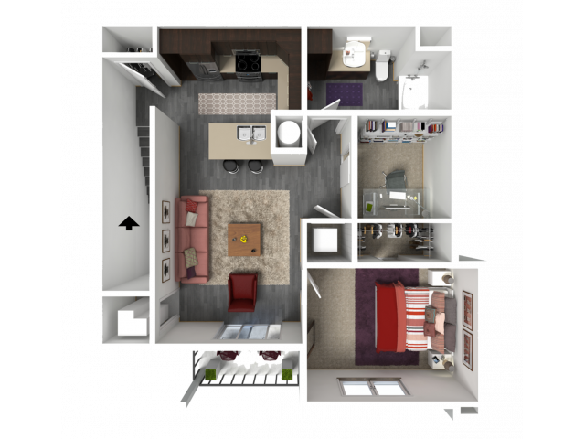 Floor Plan FC2 | 1 Glenn Place | Apartments in Fitchburg, WI